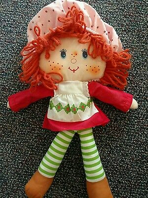 Vintage Strawberry Shortcake rag doll