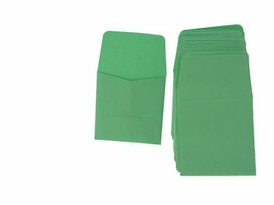 Guardhouse Green Archival Paper Coin Envelopes, 2x2, 50 pack