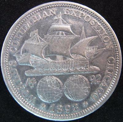 G2176 - 1892 - Us - World's Columbian Expostion Chicago Silver Coin - Nr