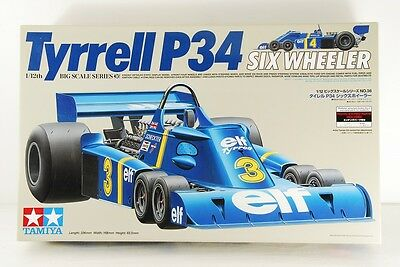 TAMIYA 1/12 Tyrrell 34 SIX WHEELER BIG SCALE ETCHED PARTS INCLUDED VERY RARE!!
