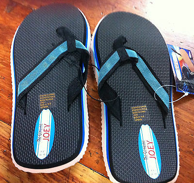 Joey (Surfer Joe) Thongs - sizes in inches see description for shoe size