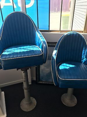 Boat Chairs And Pedestals