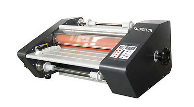 "Desktop Hot Cold Laminator 13.3""  Thermal Roll Laminating,Double Sides 4 Rollers"