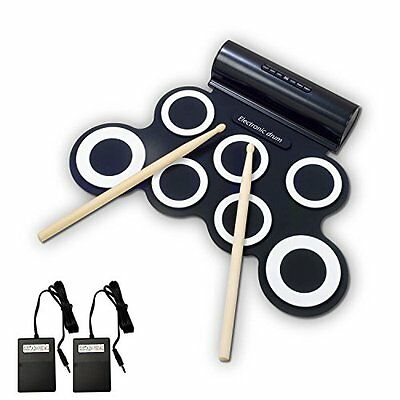 New Portable Digital Electronic Tabletop Roll up Drum Kit Standard Drum-Set