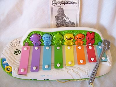 Leap Frog Xylophone Zoo Learn & Groove Learning Skills English Spanish