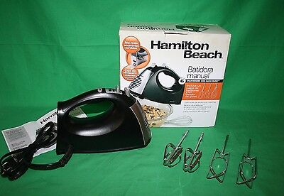 Hamilton Beach 6-Speed Hand Mixer with Snap on Storage Case