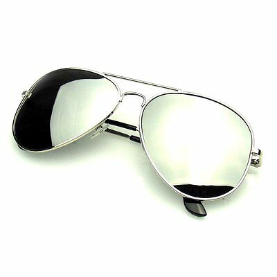 Aviator Sunglasses Vintage Mirror Lens New Men Women Fashion Frame Retro Pilot