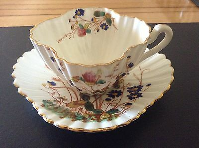 WILEMAN Foley (Pre Shelley) Cup And Saucer 'Clover' A/F