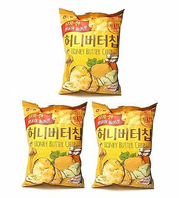 Haitai Honey Butter Chips 60 g x 3 packs