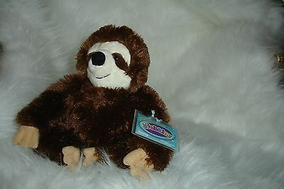 Webkinz Full Size Sloth - New W/ Sealed Code-Very Soft-Free Shipping