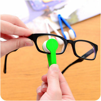Glasses Easy Clean Microfibre Wipe Spectacles Cleaner Optic Micro Cleaner