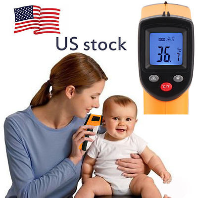 Nice Non-Contact LCD IR Laser Infrared Digital Temperature Thermometer Gun NEW @