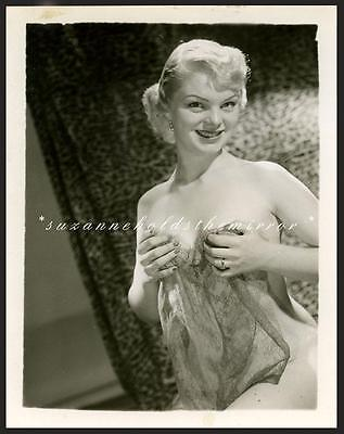 VINTAGE 1950s NUDE SEXY BLONDE RISQUE PHOTO