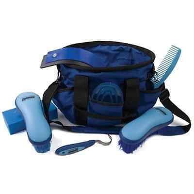 Roma Deluxe Carry Bag Grooming Kit Blue