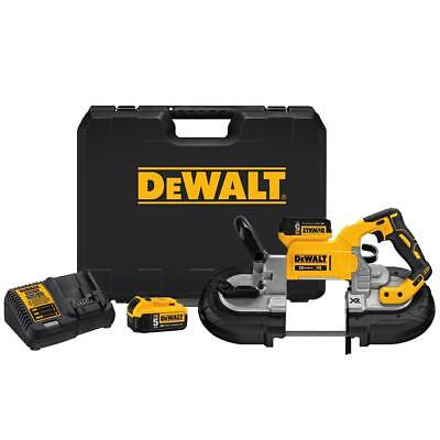 DEWALT DCS374P2 20V MAX Lithium Ion Deep Cut Band Saw Kit