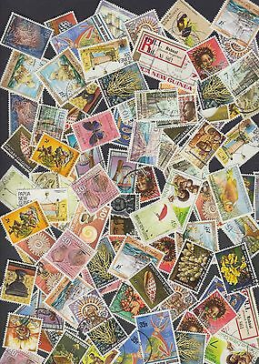 Collection of Used PNG stamps from Papua New Guinea a6