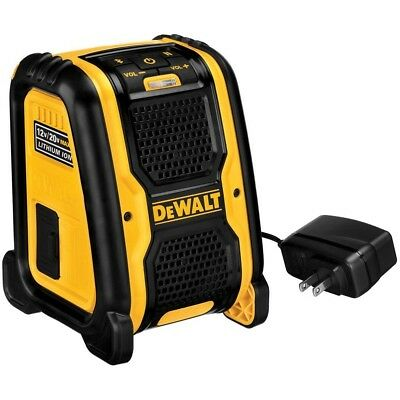 DEWALT DCR006 12v/20V MAX Jobsite Bluetooth Speaker