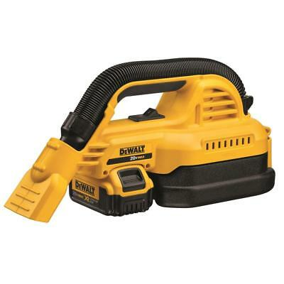 DEWALT DCV517M1 20V Max Cordless 1/2 Gallon Wet/Dry Portable Vacuum Kit