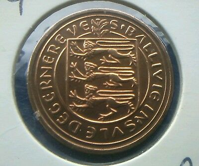 1979 Bailiwick Of Guernsey Windmill 2P Two Pence Coin