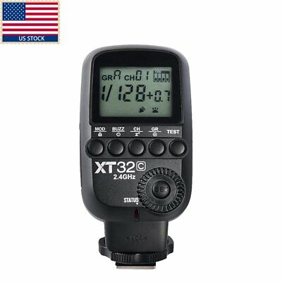 Godox XT32C HSS 1/8000s 2.4G Wireless Power Flash Trigger f Canon QT400II TT685C