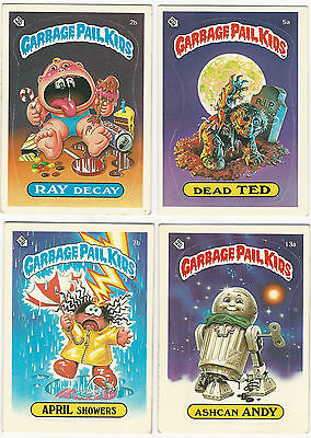 Garbage Pail Kids 1st Series $7.95 each : Complete Your Set : Pick What You Want