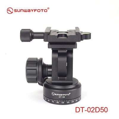 Sunwayfoto New Monopod head DT-02D50 Panning Base with Clamp Paylaod 12kg