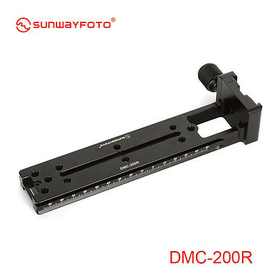 Sunwayfoto Multi-Purpose Rail Nodal Slide DMC-200R Copmatible Arca-swiss plate