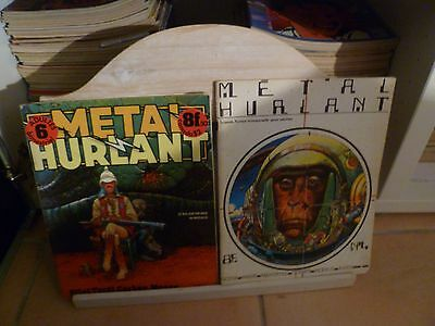 Lot Metal Hurlant Collection Quasi Complete 124 N° / 133