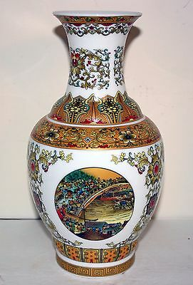 Rare Chinese Antique Hand Painted Gold Gourd Shape Porcelain Vase Yongzheng Mark