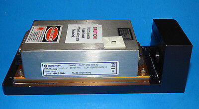 Coherent Sapphire 488nm 30mW Blue Laser Head LP Low Power / Plate Mounted