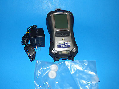 RAE Systems MultiRAE-Lite Gas Monitor PGM6208 & Sensor H2S LEL CO OXY Charger
