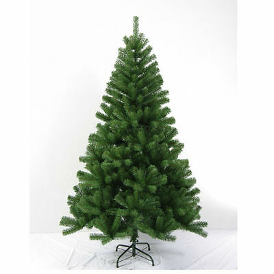6FT Premium Artificial Christmas Tree Green Stand Traditionl Xmas Decorations