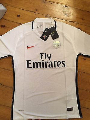 Brand New With Tags Psg Paris St Germain Away Football Shirt 2016 /17 Size L