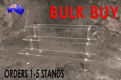 Acrylic Display Stand 3 Tier; Collectible; Jewelry; Cake; toys; action figure;