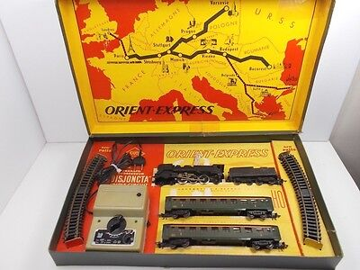 French Jouef HO Electric Train Set Orient Express (Boxed)