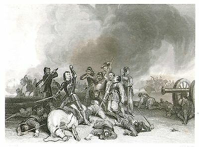 The Battle of Hopton Heath (English Civil War) after George Cattermole - c1835