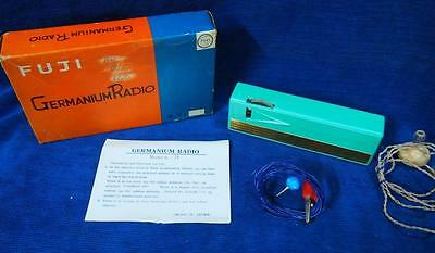 A Scarce Vintage Fuji G-71 Germanium Radio Set in Box with Instructions