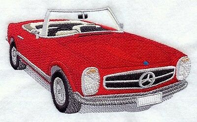 Finished Embroidery Cars Mercedes 250 SL