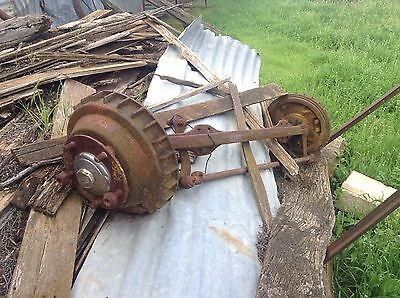 Vintage Ford Truck Front Axle