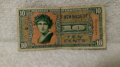 10 Cents - Series 541 - Military Payment Certificate - Collectible Money