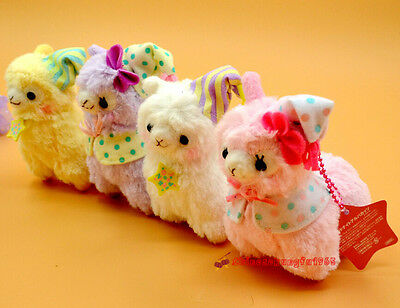 7'' Alpacasso Amuse Good Night Llama Alpaca Stuffed Plush Doll Figure Bag Charm