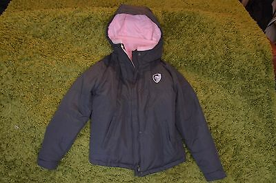 GIRLS 12 Years LEICESTER TIGERS Rugby Jacket Coat ~ Excellent Condition for Xmas