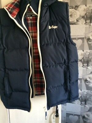 Lee Cooper Padded Body Warmer Age 13