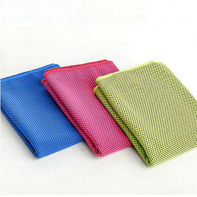 Cold Cool Running Swimming Jogging Gym Instant Cooling Towel Summer Sports