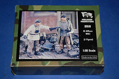 Verlinden Productions 2018 - SS Officers WWII  scala 1/35