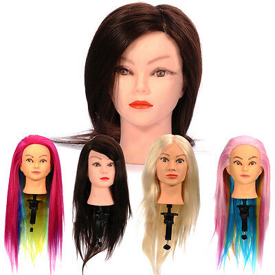 Mannequin Head With Hair Female Hairdressing Mannequin Head Wig Stand Human Hair