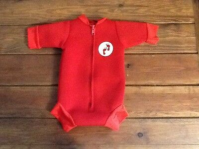 Two Bare Feet Baby Wetsuit Swim Suit Size Small 0-3 Months Newborn