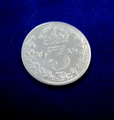 1919 - Silver - 3d Three Pence - Great Britain - George V. a VF