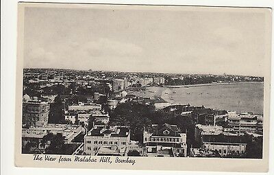 The View from Malabac Hill, Bombay