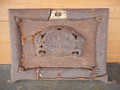 Special Toledo WOOD STOVE CAST Stove Part STEAMPUNK Primitive VERY RUSTY